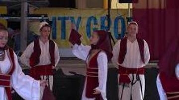 Albanska folkdansfestivalen i Växjö 2013