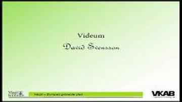 Årsstämma med Växjös kommunala bolag 2013: Videum