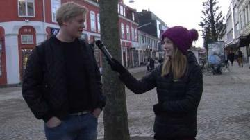 Reportage om melodifestivalens första deltävling