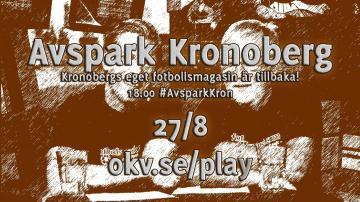 ÖKV Play - Avspark Kronoberg, 27/8 2014