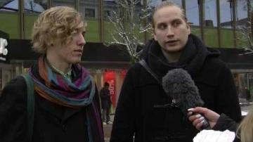 Reportage om förintelsens minnesdag