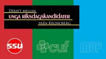 ÖKV Play - Debatt mellan unga riksdagskandidater från Kronoberg