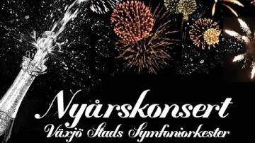 Nyårskonsert med Växjö Stads Symfoniorkester