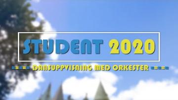 Student 2020 - Dansuppvisning med orkester