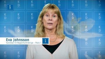 VAL 2018 - Eva Johnsson - Kristdemokraterna