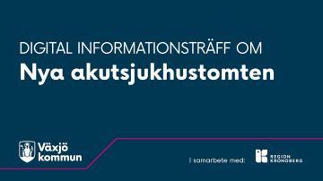 Informationsmöte om nya sjukhustomten