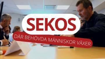 SEKOS - DÄR BEHÖVDA MÄNNISKOR VÄXER