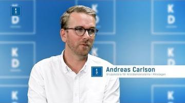 Val 2018 - Patrik Åkesson intervjuar Andreas Carlson (KD)