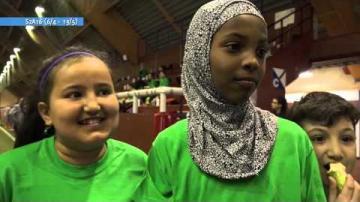 Växjö Islamiska Skolas fotbollsturnering, ur Veckomagasinet S2A16