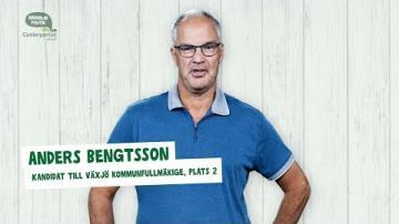 Centerpariet - Fem snabba frågor till Anders Bengtsson (C)