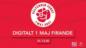 Digitalt 1 maj-firande med Socialdemokraterna