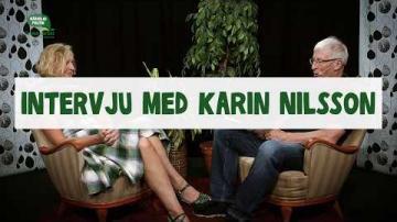 Val 2018 - Intervju med Karin Nilsson (C)