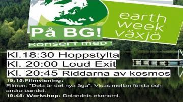 Live 18.30 Hoppstylta - 20.00 Loud Exit - 20.45 Riddarna av kosmos