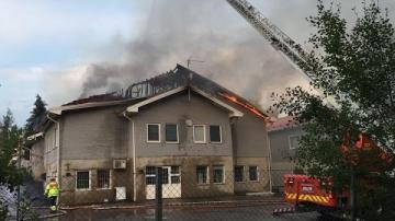 Mordbrand på skola mitt i Växjö!