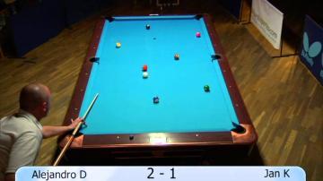 ÖKV Play - Biljard: Swedish Pool Tour 500, semifinal