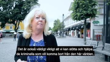 Krossa gängkriminaliteten! av Moderaterna Växjö