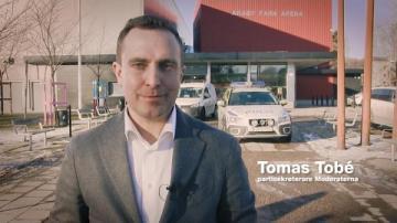Tomas Tobé i Växjö