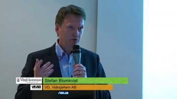 Årsstämma med Växjös kommunala bolag 2015: Vidingehem