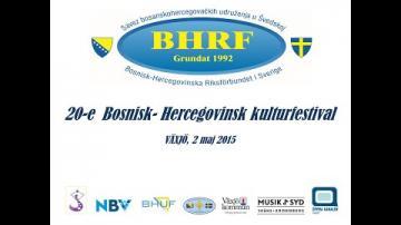 Bosnisk-Hercegovinsk Kulturfestival 2015 - Prisutdelning