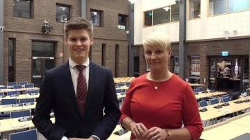 Kommunfullmäktige - Eftersnack med Anna Tenje och Oliver Rosengren