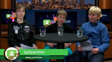 ÖKV Play - Barnens Egen TV: Spelpanelen, Överlevnads- & Skräckspel