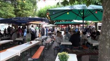 Vinfest i Rüdesheim